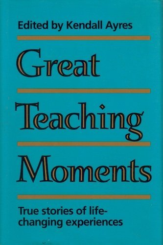 9780884947592: Great teaching moments