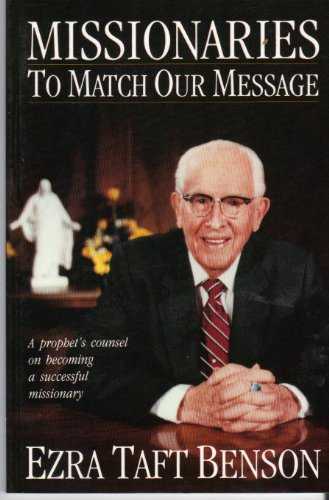 9780884947790: Missionaries to Match Our Message