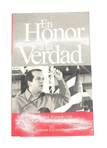9780884951681: En Honor a La Verdad