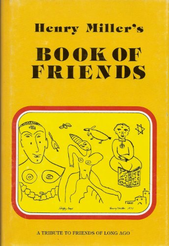 9780884960508: Henry Miller's Book of Friends