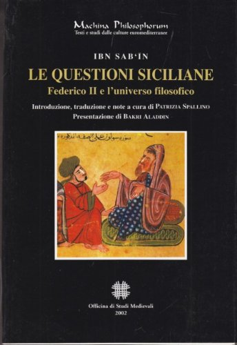9780886154233: Machina Philosophorum N.4 - Le Questioni Siciliane Federico Ii E L'univers Filosofico