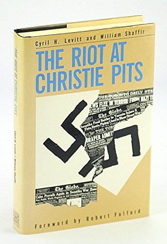 9780886190934: The riot at Christie Pits