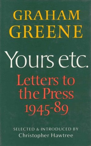 9780886192433: Yours Etc Letters to the Press 89