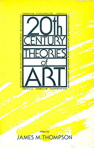 9780886291112: Twentieth-Century Theories of Art