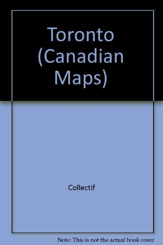 9780886402105: New City of Toronto Ontario City Map (Canadian Maps)