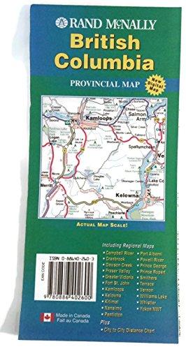 9780886402600: British Columbia (Canada Maps)