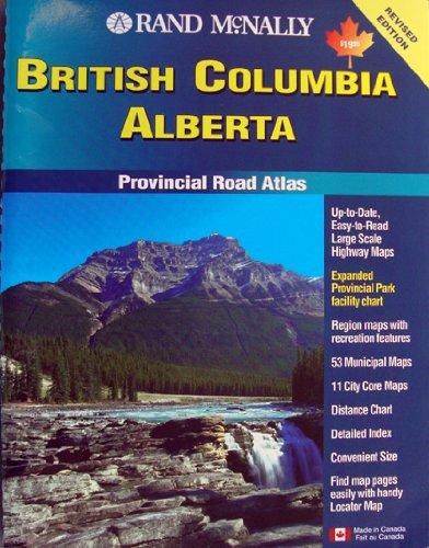 9780886406820: British Columbia Alberta: Rand McNally Road Atlas, 3rd Edition