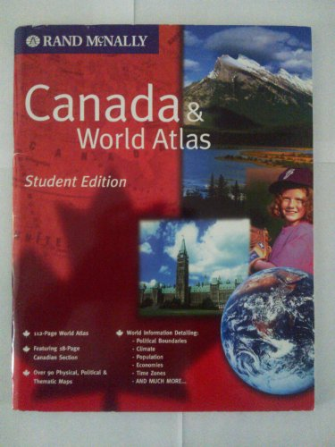 Rand McNally Canada & World Atlas: n/a