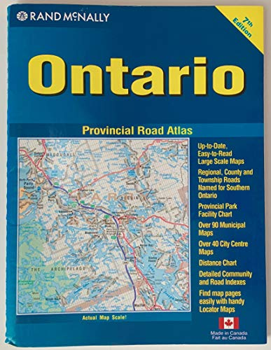 9780886407827: Ontario RoadMaster atlas