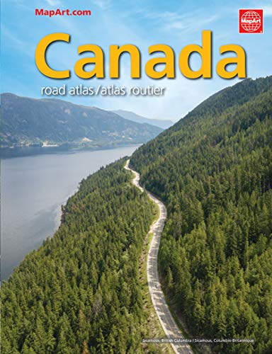 9780886408633: Canada Road Atlas / Atlas Routier (English and French Edition)
