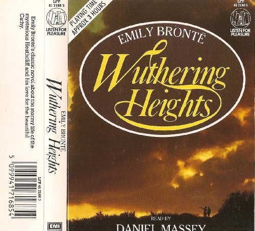 Wuthering Heights (Book & Cassette; Read-Along Edition): Bronte, Emily, Massey, Daniel