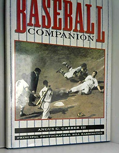 9780886656133: The baseball companion
