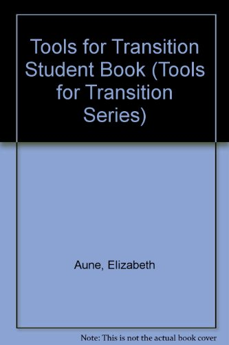 9780886714147: Tools for Transition Student Book (Tools for Transition Series)