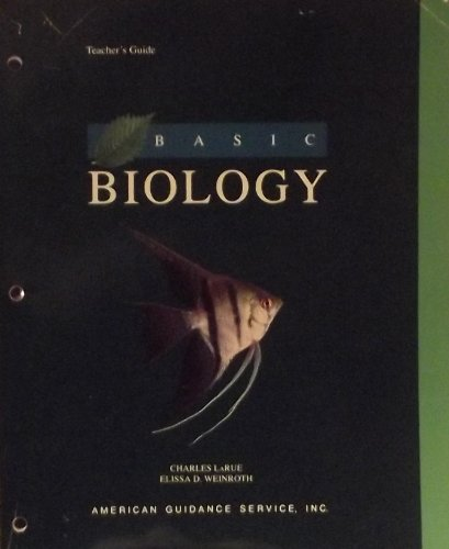9780886715441: Basic biology: Teacher's guide, supplementary activities, and answer keys