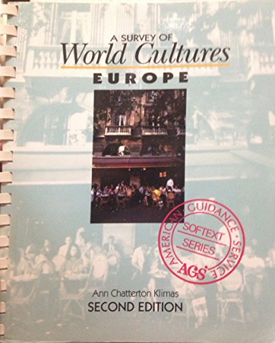 9780886716745: A Survey of World Cultures: Europe