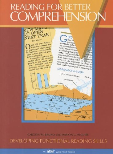 READING FOR BETTER COMPREHENSION (AGS Worktext): AGS Secondary