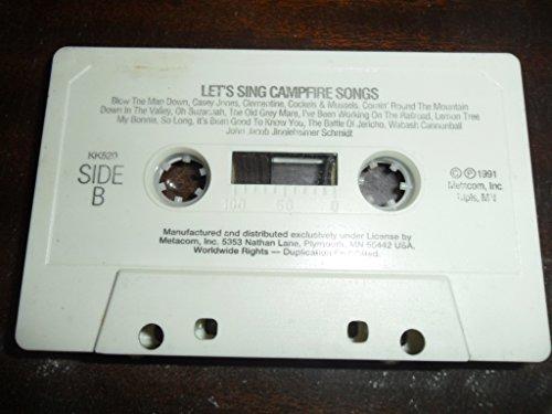 9780886762209: LET'S SING CAMPFIRE SONGS (NOT A CD!) (AUDIOTAPE CASSETTE)