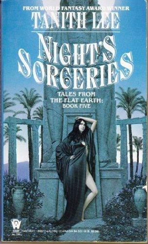 9780886771942: Lee Tanith : Flat Earth 5: Night'S Sorceries (Daw science fiction)