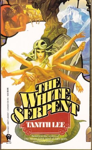 The White Serpent (Daw science fiction): Tanith Lee
