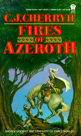 9780886773236: Fires of Azeroth (Morgaine Cycle)