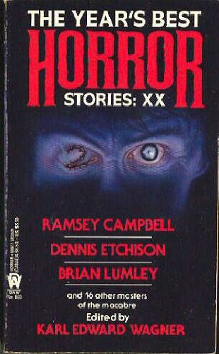 The Year's Best Horror Stories: XX