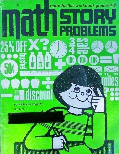 9780886791667: Math Story Problems: Grades 4-6 (Reproducible Workbooks, No. 2472)