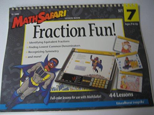 9780886799953: Math Safari Lesson Book: Fraction Fun (Set 7 Ages 9 & up)