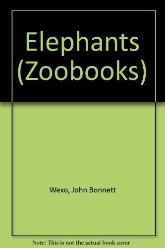 9780886822262: Elephants (Zoobooks)