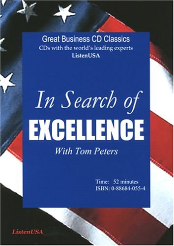 9780886840556: In Search of Excellence