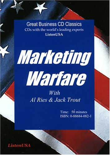 9780886840822: Marketing Warfare: How to Use Military Principles to Develop Marketing Strategies
