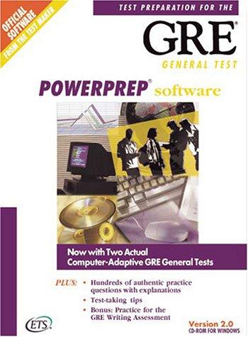 9780886851873: Powerprep Software: Test Preparation for the Gre General Test, Version 2.0