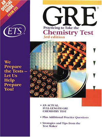 9780886851903: Chemistry Test (Practicing to Take the GRE)