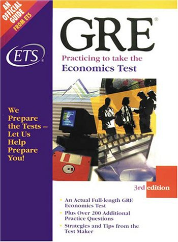 9780886851927: Economics Test, 3rd Edition: Gre Practicing to Take the Test Series