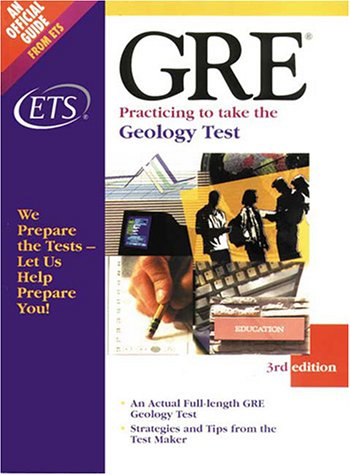 9780886851941: Gre Practicing to Take the Geology Test: An Actual Full-Length Gre Geology Test Strategies and Tipsfrom the Test Maker