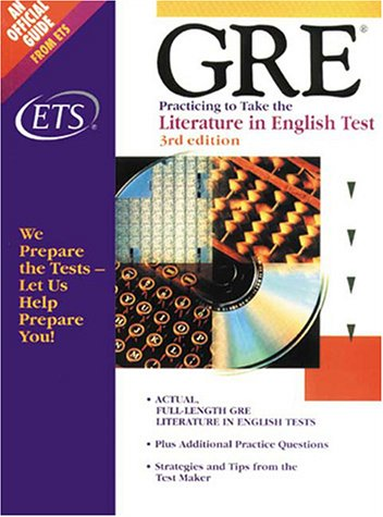 9780886851958: Literature in English Test (Practicing to Take the GRE)