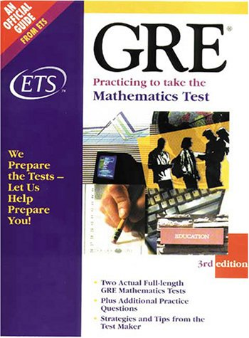 9780886851965: Gre: Mathematics Test 3rd O/P