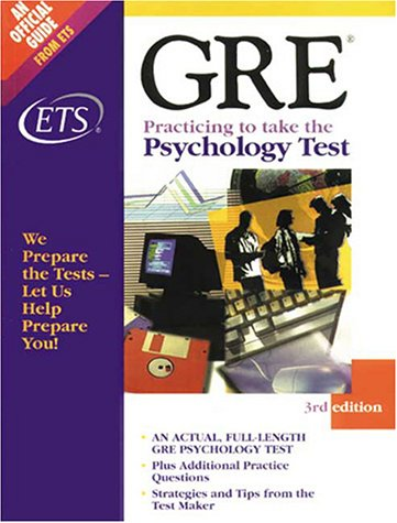 9780886851989: Gre Practicing to Take the Psychology Test