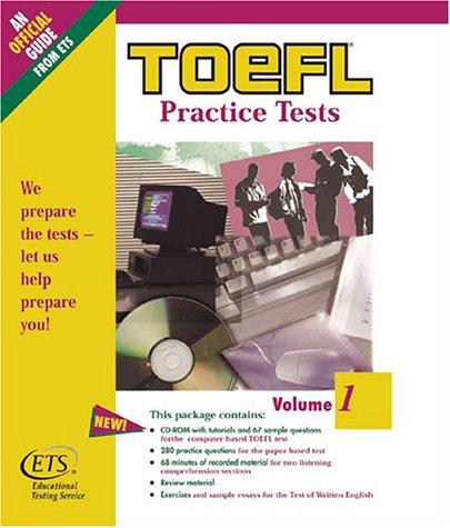 9780886852047: 1: Toefl Practice Tests