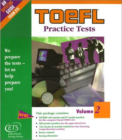 9780886852054: TOEFL Practice Tests: Volume 2 (TOEFL Practice Test series)