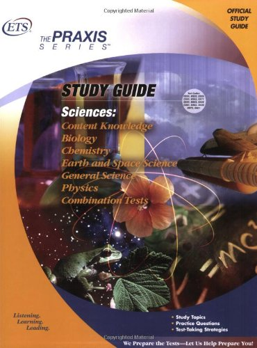 9780886852160: Sciences: Content Knowledge Study Guide (Praxis Study Guides)