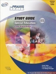 9780886852177: Special Education: Core Knowledge Study Guide (Praxis Study Guides)
