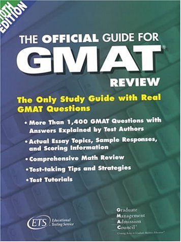 9780886852405: The Official Guide for Gmat Review
