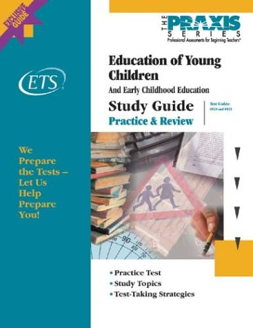 9780886852498: Education of Young Children: And Early Childhood Education and Pre-Kindergarten Education (Praxis)