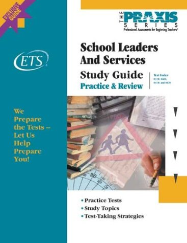9780886852597: School Leaders and Services Study Guide (Praxis Study Guides)