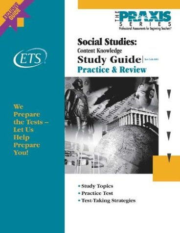 9780886852610: Social Studies: Content Knowledge Study Guide (Praxis Study Guides)