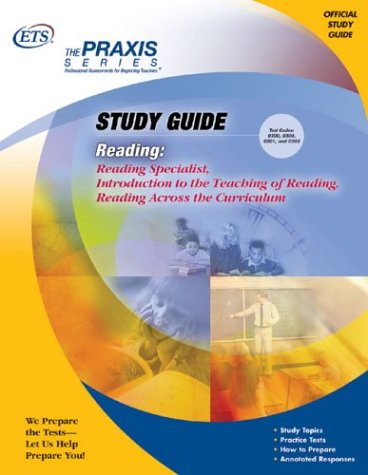 9780886853310: Reading: Reading Specialist, Introduction to the Teaching of Reading, Reading Across the Curriculum (Praxis Study Guides)
