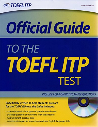 9780886854164: Official Guide to the Toefl ITP Test