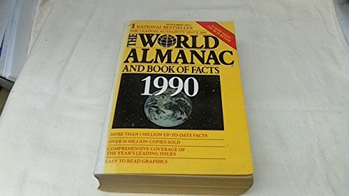 9780886875596: World Almanac and Book of Facts, 1990