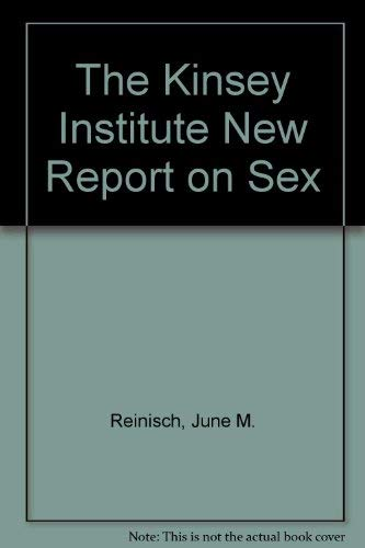 9780886875732: The Kinsey Institute New Report on Sex