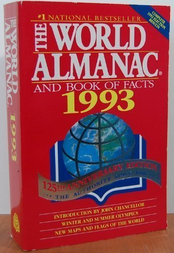 9780886876586: World Almanac and Book of Facts 1993 (World Almanac & Book of Facts (Paperback))